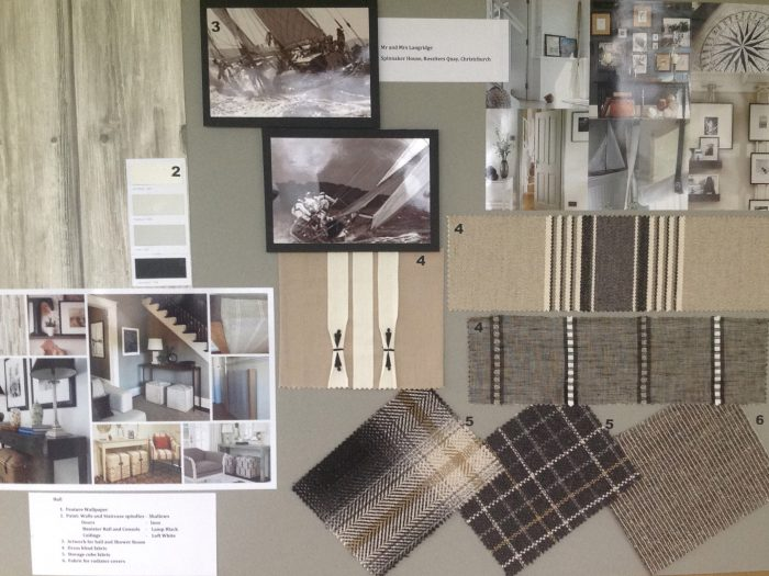 Another moodboard created for a client